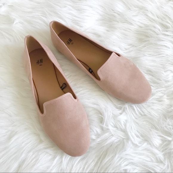 H&M Shoes - H&M flats pink blush size 40.